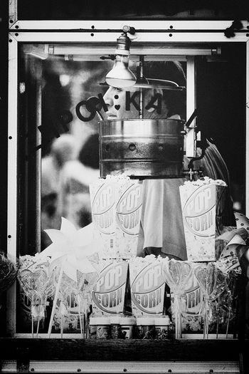 The man behind the Pop Corn Machine - @ The Streets of Athens, Greece | Street Photography Capture The Moment Up Close Street Photography Taking Photos From My Point Of View Monochrome People Black & White Streetphoto_bw On Work Black And White Vertical Composition Portrait EyeEm Best Shots - The Streets EyeEm Masterclass EyeEm Streets Athens Street Photography My Favorite Photo The Shop Around The Corner The Street Photographer - 2016 EyeEm Awards Monochrome Photography
