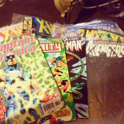 Blast from the past a few of my old comics Thanksmomma