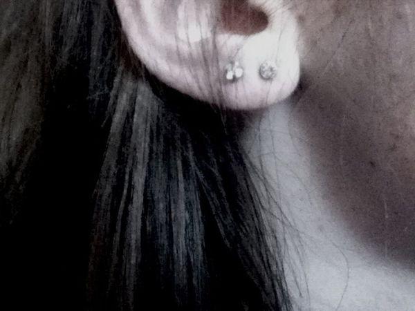 finally❤ Ear Piercing Second Holes Love
