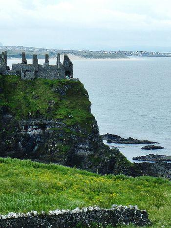 Dunluce Castle in Ireland EyeEm Landscape Landscapes Eyeem Ireland Seaside Oceanside Landmarks Northern Ireland Abandoned Places Cgk Photography Travel