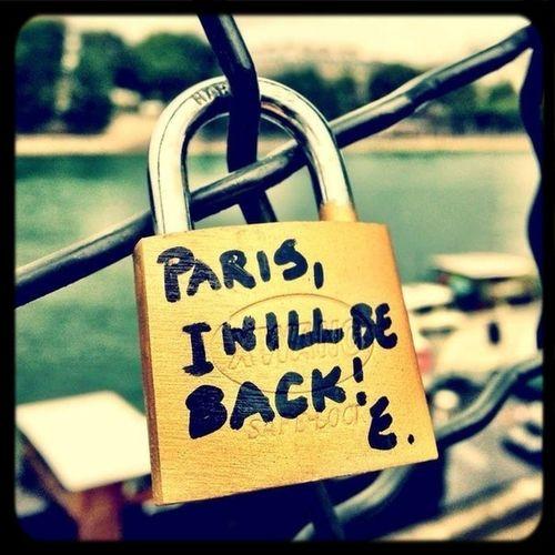 Sooooon Paris Come Back
