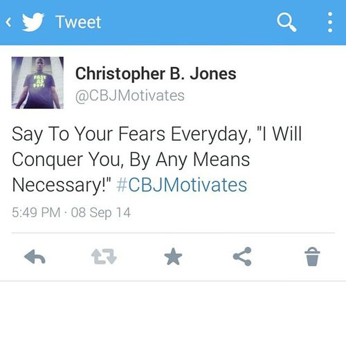 CBJMotivates Fearlessness Strength Power Determination Will Rise ByAnyMeansNecessary