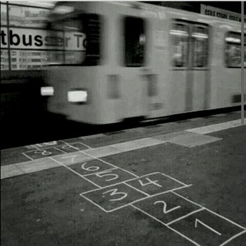 Zug Bahngleise