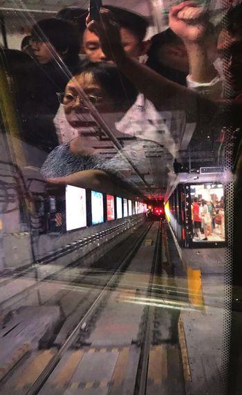 Transportation Train Passenger Train HongKong South Island Line