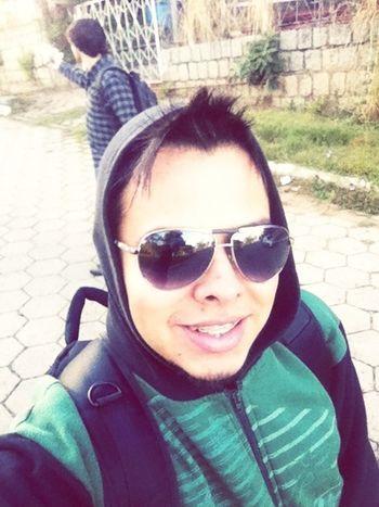 Going To Work Frio #saindo #partiu