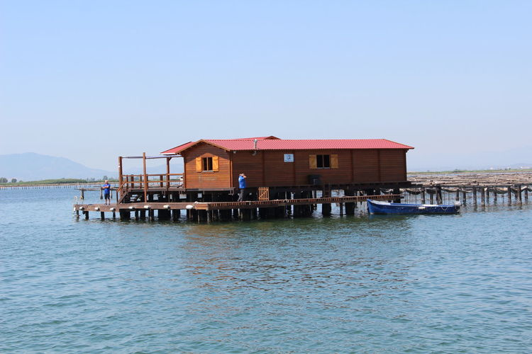 Special place to eat oysters. http://www.raconets.com/es/2017/08/miradorbadia/ Oyster  Wine Cava Raconets Tarragona Delta Ebre Catalunya Nature Escapada Travel Mediterranean  Restaurant Water Sea Stilt House Floating On Water Wood - Material Sky Architecture Built Structure Building Exterior