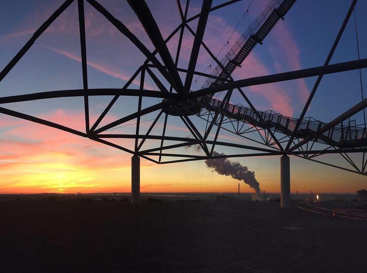 Tetraeder Tetraeder Sunrise Landmark Landscape Sunset Sky Silhouette Landscape Fuel And Power Generation No People EyeEmNewHere