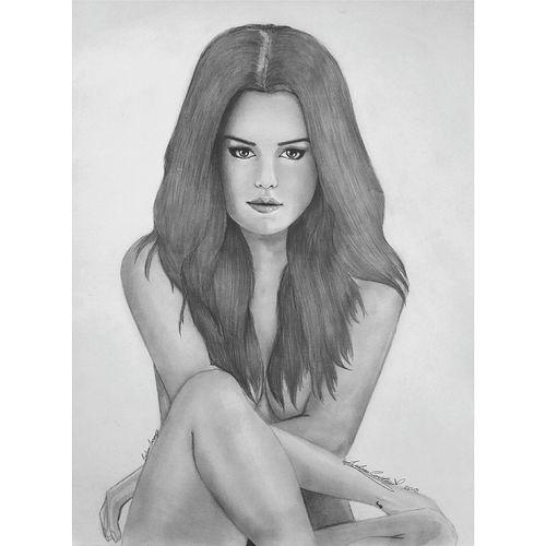 Revival Pencil Portrait Photooftheday Photography Drawing ArtWork Selena Gomez  Selenator Selenators Revival