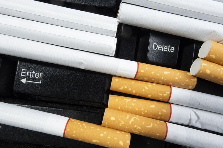 No Smoking Cigarettes Smoke Smoking Choice Cigarette  Close-up Communication Concept Education Full Frame Group Of Objects Indoors  No People Publication Text