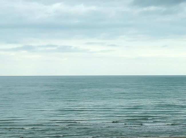 Minimalism Photography Minimalist Photography  Civitanova Marche Mare Onde Sea Horizon Over Water Water Sky Day Scenics No People Outdoors Nature