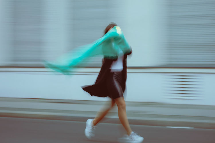 Blurred Motion Motion Full Length Real People One Person Lifestyles Architecture Dancing Vitality Skill  Built Structure Adult Sport on the move Clothing Day City Running Speed Effort Exploring Fun My Best Photo The Street Photographer - 2019 EyeEm Awards
