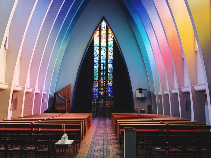 First Eyeem Photo Stained Glass Spirituality Belief Place Of Worship Multi Colored Religion Architecture Built Structure Kirche EyeEmNewHere