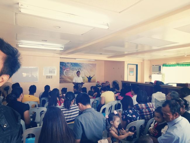 Large Group Of People Group Of People Audience Crowd Occupation Meeting Seminar People Indoors  Business Learning Education Office Presentation Student Device Screen Adult Auditorium Men Technology Church Preaching Preacher Tagbilaran City Be. Ready.