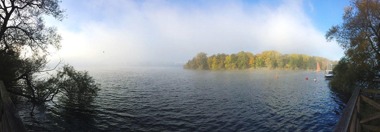 Fog rolling