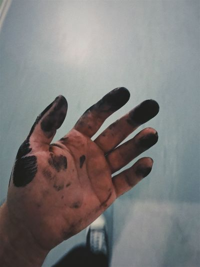 Work Human Hand One Person Human Body Part Real People Close-up Palm One Man Only