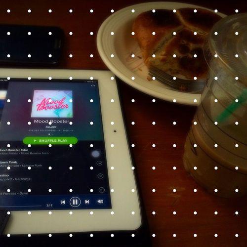 3/365 Spotify Moodbooster Strarbucks Caramel Macchiato Corned Beef Pandesal Ipad Samsung