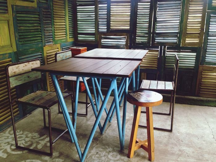 Table & Chairs at Happiness Coffee & Restaurant Home Decor Ideas By ITag A Place By ITag
