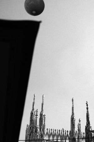Architecture Building Exterior Built Structure Day Duomo Duomo Di Milano Floating Bridge Low Angle View Milan Milano, Italia No People Outdoors Sky