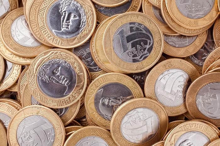 Brazil Currency Economy Rich Shopping Abundance Administration Amount Brazilian Coins Cash Close-up Close—up Coin Crisis Currency Depreciation Finance Finance And Economy Gold Colored Inflation  Macrophotography Money Success Successful Value