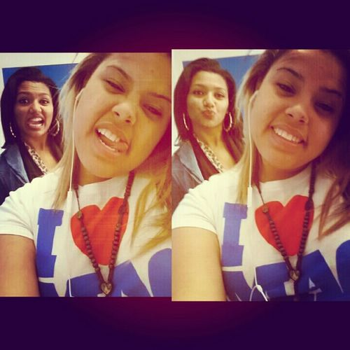 with my shawty earlier >