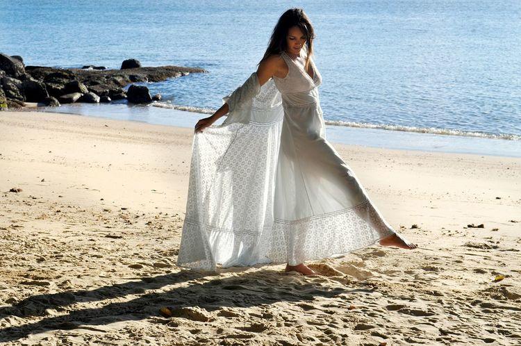 Just me! Braziliangirl Brazilian Woman Water Young Women Sea Women Beach Full Length Standing Sand