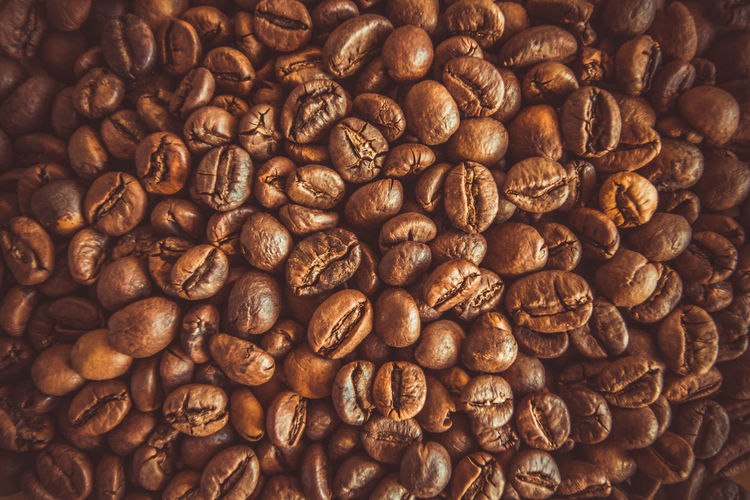 Agriculture Arabica Aroma Aromatic Backdrop Background Bean Beans Beverage Black Brown Caffeine Cappuccino Close Close-up Closeup Coffe Coffee Color Crop  Dark Delicious Drink Energy Espresso Flavor Food Fresh Golden Gourmet Grain Heap Heat Hot Ingredient Macro Mocha Natural Nature Nobody Roasted Robusta Seed Space Studio Texture Textured  Up Wallpaper White
