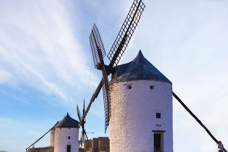 Windmill Alternative Energy Architecture Building Exterior Built Structure Cloud - Sky Day Environment Environmental Conservation Fuel And Power Generation Low Angle View Mill Nature No People Outdoors Renewable Energy Sky Technology Traditional Windmill Turbine Wind Power Wind Turbine