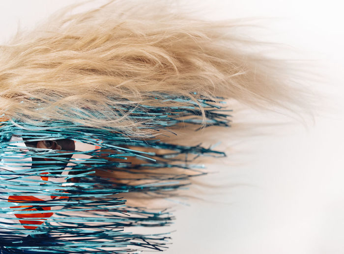Hair Blond Hair Disguise Mask - Disguise Portrait One Person One Woman Only Abstract Textured  Backgrounds Close-up Mixing Dissolving Day Go Higher End Plastic Pollution Visual Creativity Creative Space The Fashion Photographer - 2018 EyeEm Awards The Portraitist - 2018 EyeEm Awards The Still Life Photographer - 2018 EyeEm Awards The Creative - 2018 EyeEm Awards