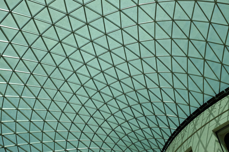 British Museum ceiling Architectural Design Architectural Feature Architecture Architecture And Art British Museum Built Structure Ceiling Curve Geometric Shape London No People Repetition Tourist Attraction