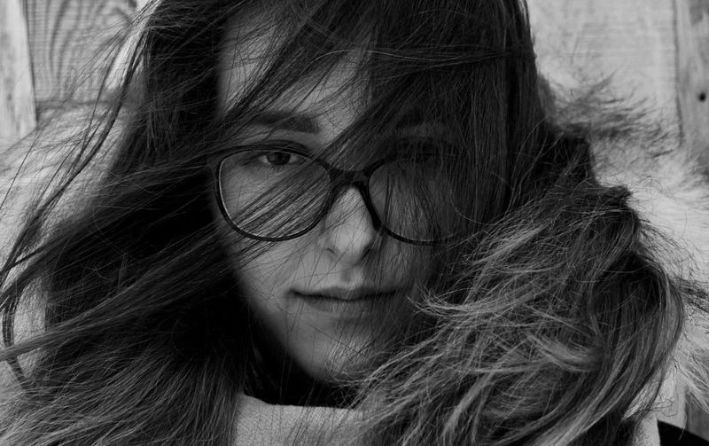 Portrait Black And White Teenage Girls Thoughtful Beautiful Woman Portrait Beauty Young Women Women Headshot Long Hair Fashion Human Face Close-up Tangled Hair 14-15 Years One Teenage Girl Only Teenager Adolescence  Hairy  International Women's Day 2019 The Portraitist - 2019 EyeEm Awards