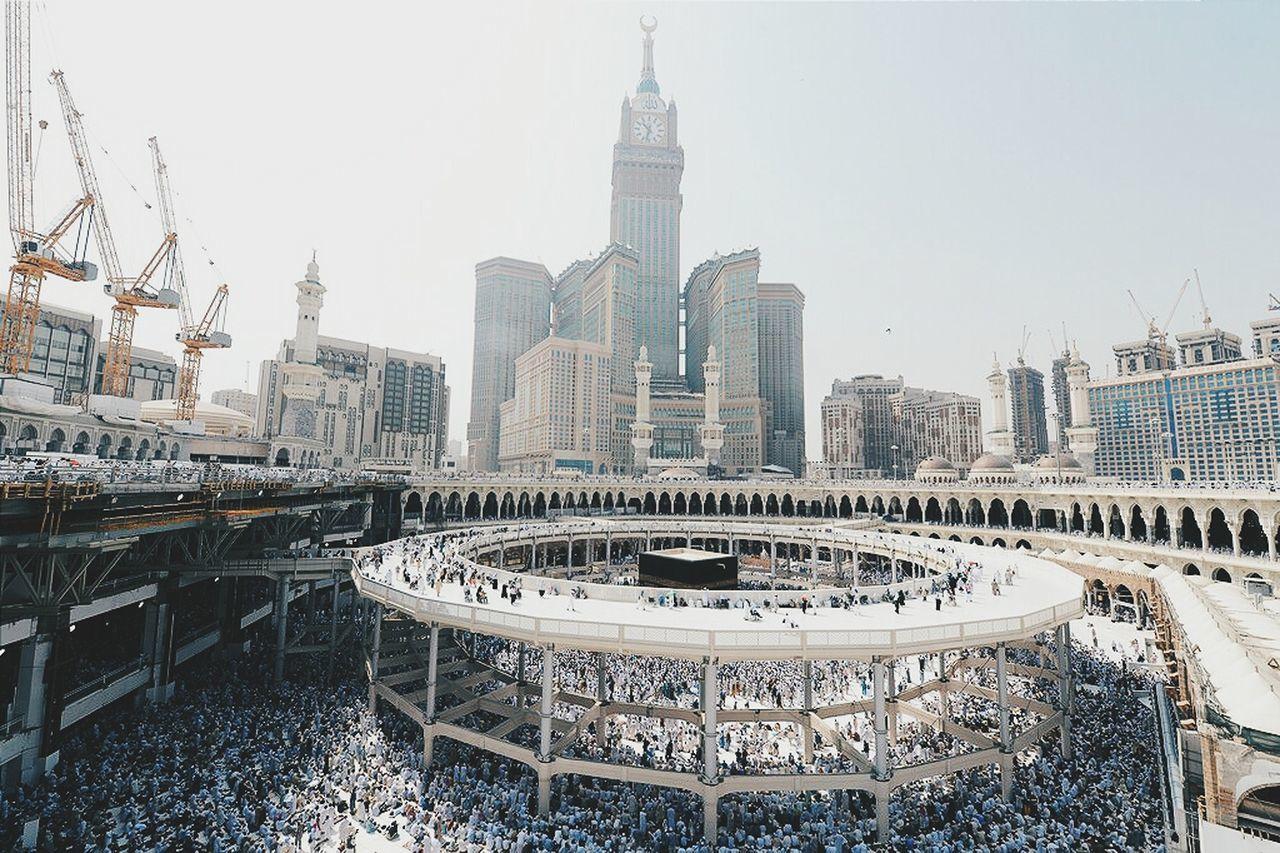 Masjid al-haram during ramadhan