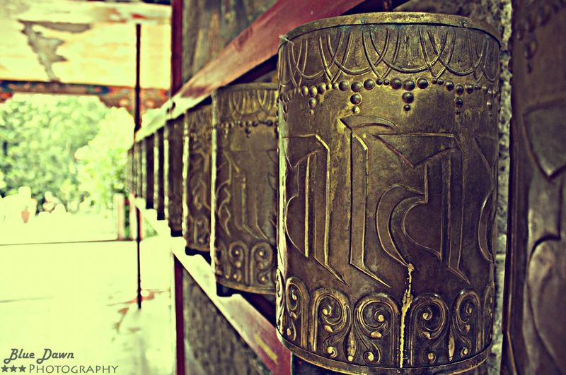 This pic was taken at Norbulingka Institute situated at Dharamshala , Himachal Pradesh !!! Tibetan Culture Be Cultural Prayer Wheels Follow4follow Natural Beauty Professional Photographer Eye Em Gallery Check This Out Hello World Bluedawnphotography Taking Photos Architecture Buddhism Tibetan Monastery EyeEm Best Shots Bestoftheday 43 Golden Moments