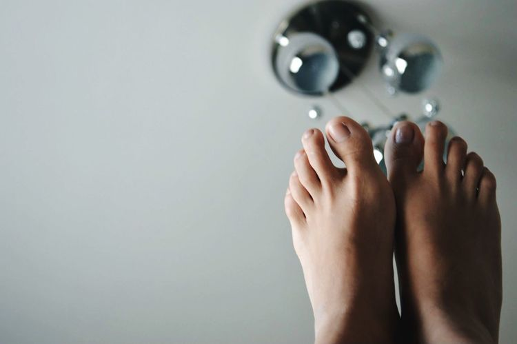 One Person Human Body Part Real People Indoors  Low Section Women Human Hand Close-up Human Leg Day Legs Fingers Feet