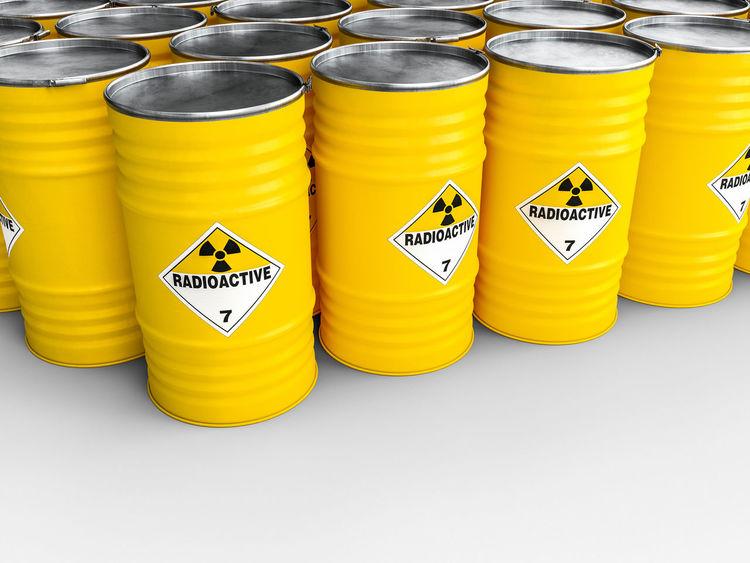 3d Rendering Radioactive Barrel Danger Dangerous Radioactive Barrels Radioactive Material Radioactive Waste Radioactivity Toxic Toxic Substance Warning Symbol Yellow