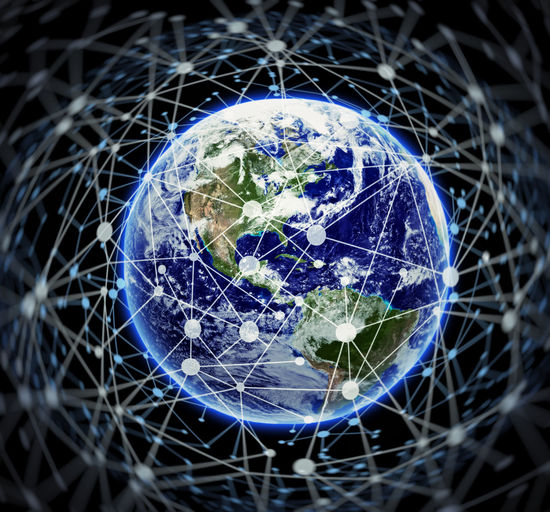 World of connectivity Planet Earth Space Sphere Technology Communication Connection Global Business Network Blockchain Internet Web Business Finance And Industry Planet - Space World Worldwide Envrionment Data Data Security Data Protection Cloud - Sky Cloud Computing Computer Global Communications Security Internet Of Things