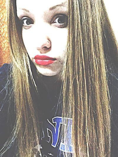 Red lips///rrrr^.^
