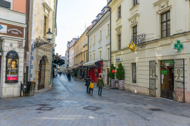 Old Town Bratislava, Slovakia Alley Architecture Bratislava, Slovakia Building Building Exterior Built Structure City City Life City Street Day Diminishing Perspective Lifestyles Multi Colored Outdoors Residential Building Sky Store The Way Forward
