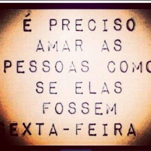 SEXTA Filosofía Humor Amor Love Brasil