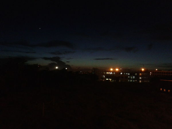 Dark Hostel Life Light Light And Shadow Night Sky Outdoors Showing Imperfection Sky Illuminated Horizon Illuminated By Industry Lights Beautiful Night Beautiful Night Sky Star On The Top Star The Great Outdoors With Adobe The Great Outdoors - 2016 EyeEm Awards The Great