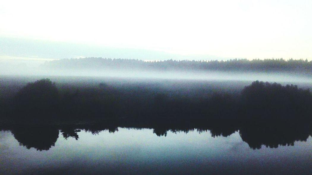 туман река River Fog