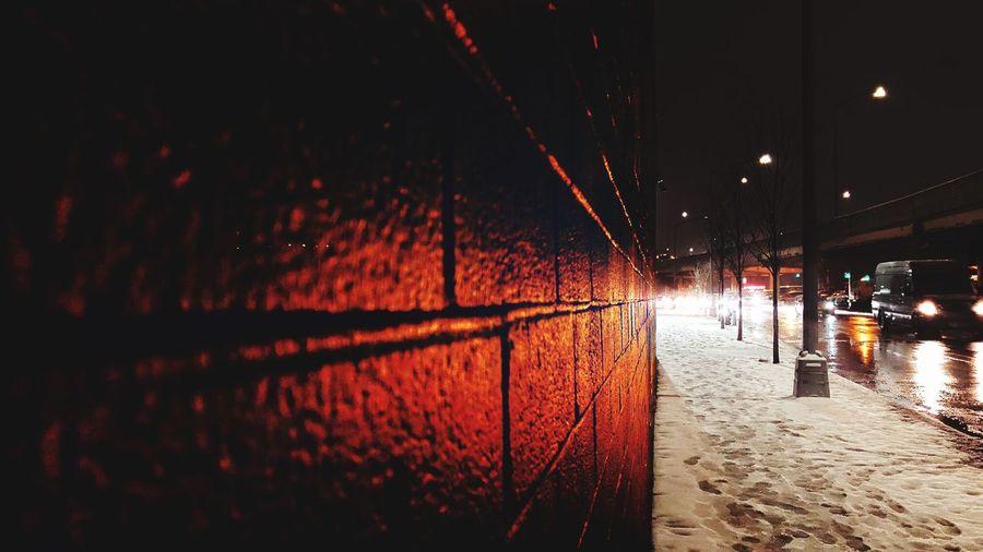 Wall Nighttime