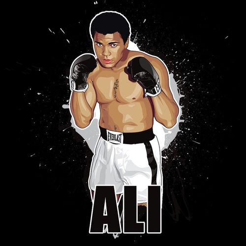 RIP #MuhammadAli. So sad 😟 greatest ever boxer. Will Never be a boxer like him again in this lifetime X 👊 #legend MuhammadAli