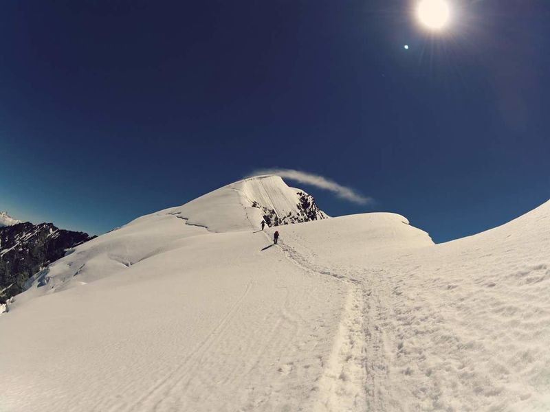 Winter Snow Nature Outdoors Mountain Nature Adventure Healthy Lifestyle Alps Mountain Peak Hiking Summit Switzerland❤️ Switzerland Alps Crampons Ice Axe Glacier Crevase