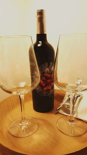 Barcelona Wine Wineglass Wineopener Bottle Of Wine Tarima Red Wine Wine Bottle Wine And Glasses Indoors  Decoration