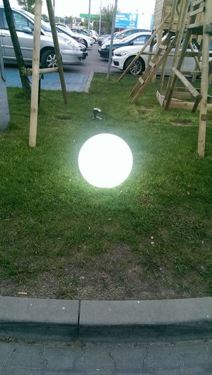 Magic Ball Outdoors Day No People Green Color Grass Close-up White Colors 😃.