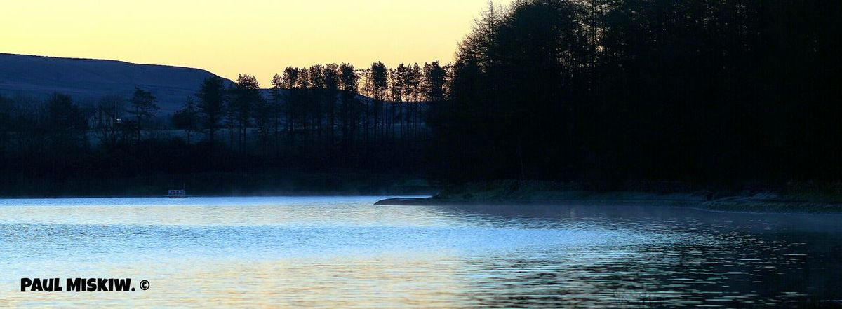 Entwistle Reservoir Big Lake Reservoir Trees And Nature Trees And Water Photography Water Tree Sunset Reflection Sky