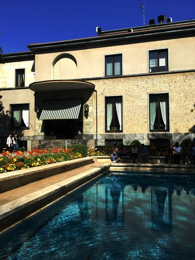 Villa Necchi-Campiglio Built Structure Architecture Building Exterior Water Swimming Pool Building Pool