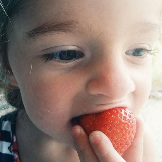 Strawberrygirl First Eyeem Photo