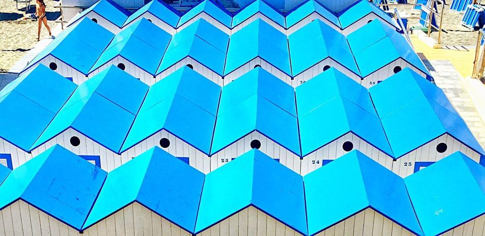 Blue No People Day Architecture Outdoors Built Structure Building Exterior Close-up