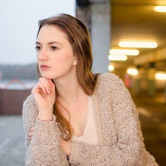 Parkhaus Beautiful Girl Nikon D5100 Photoshop @ma93mo